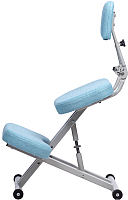 Стул коленный ProStool Comfort (светло-голубой) -