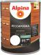 Защитно-декоративный состав Alpina Лессировка (10л, бесцветный) -