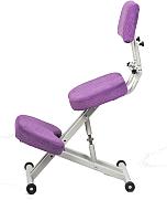 Стул коленный ProStool Comfort (фиолетовый) -