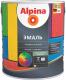 Эмаль Alpina Универсальная База 1 (750мл, шелковисто-матовый) -
