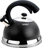 Чайник со свистком Vitesse VS-1116 (черный) -