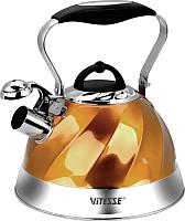 Чайник со свистком Vitesse VS-1119 (золото) -