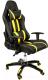Кресло геймерское Calviano Race WRC / SA-R-12 (желтый/черный) -