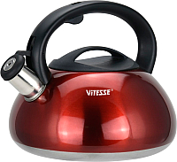 Чайник со свистком Vitesse VS-1121 (красный) -