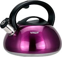 Чайник со свистком Vitesse VS-1121 (фиолетовый) -