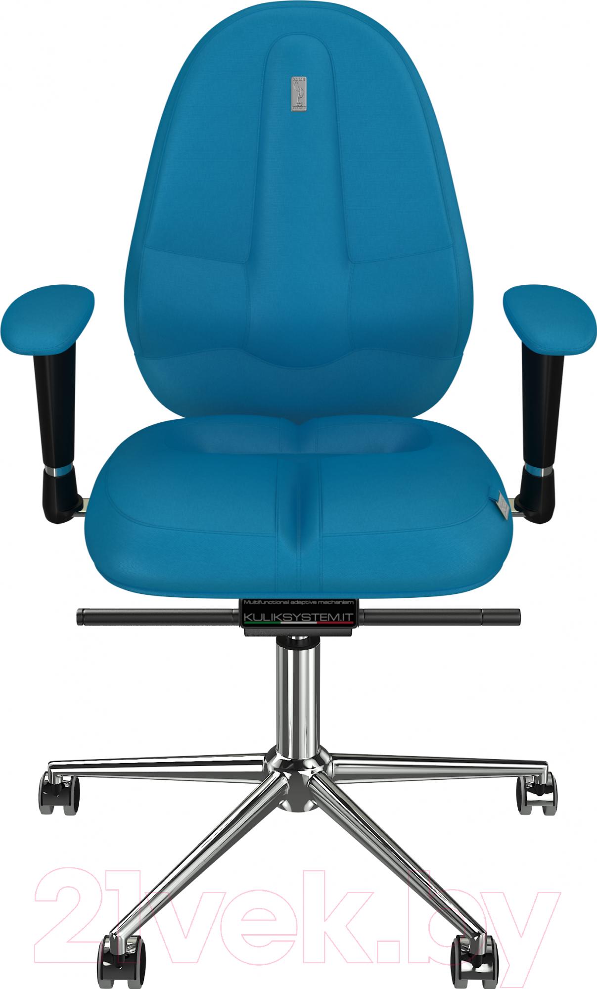 Купить Кресло офисное Kulik System, Classic азур (бирюзовый), Украина, Classic (Kulik System)