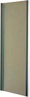 Душевая стенка Roltechnik Exclusive Line S ECDB/80 (матовое серебро/матовое стекло) -