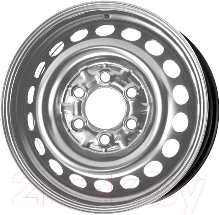 Купить Штампованный диск Trebl, X40018 17х7 6х139.7мм DIA 100.1мм ЕТ 38мм Silver, Китай