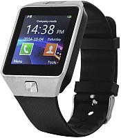 Умные часы D&A DZ09 (серебристый/черный) -
