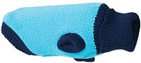 Свитер для животных Ami Play Oslo / 563248106 (34см, голубой) -