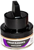 Крем для обуви Coccine Cream Elegance с губкой для гладкой кожи (50мл, бесцветный) -
