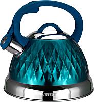 Чайник со свистком Vitesse VS-1122 (голубой) -