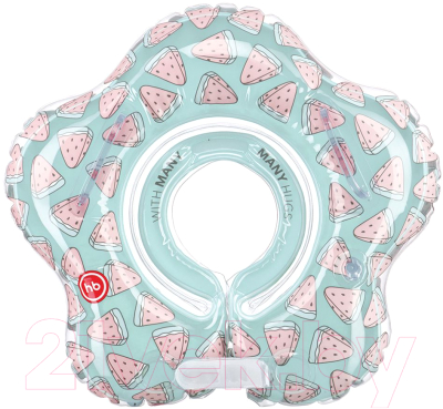 Круг для купания Happy Baby Aquafun Watermelon / 121007