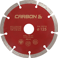 Отрезной диск алмазный Carbon CA-123733 -