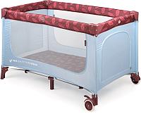 Кровать-манеж Happy Baby Martin (sky) -