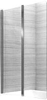 Стеклянная шторка для ванны REA Agat-2 100 / REA-W0300 (прозрачное стекло) -