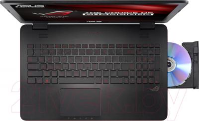 Ноутбук Asus G551JM-CN021D - вид сверху