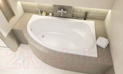 Ванна акриловая Sanplast WAP/CO 100x160+ST5 bi