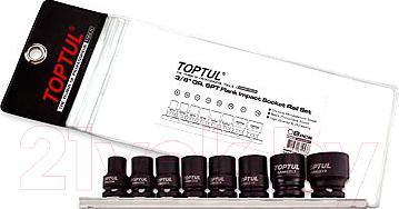 Набор головок Toptul GDAG0801 - общий вид