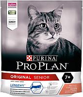 Корм для кошек Pro Plan Original Senior 7+ с лососем (400г) -