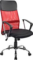 Кресло офисное Mio Tesoro Монте AF-C9767 (черный/красный) -