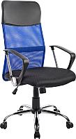 Кресло офисное Mio Tesoro Монте AF-C9767 (черный/синий) -