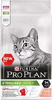 Корм для кошек Pro Plan Sterilised Sensitive Adult  OptiSenses с лососем (10кг) -