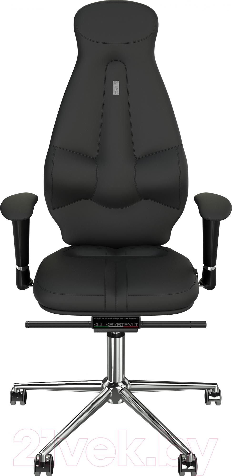 Купить Кресло офисное Kulik System, Galaxy кожа натуральная (черный), Украина, Galaxy (Kulik System)