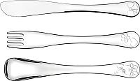 Набор столовых приборов Tramontina Le petit / 66973005 -