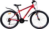 Велосипед AIST Quest 2019 (18, красный/синий) -