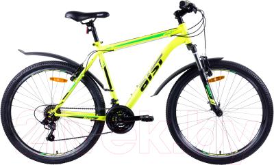 Велосипед AIST Quest 2019 (18, желтый/зеленый)