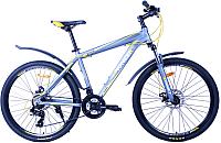 Велосипед PIONEER General T (18, серый/желтый/белый) -