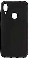 Чехол-накладка Case Deep Matte для Redmi Note 7 (черный матовый) -