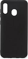 Чехол-накладка Case Matte для Galaxy А30 (черный матовый) -