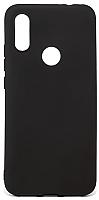 Чехол-накладка Case Matte для Redmi 7 (черный матовый) -