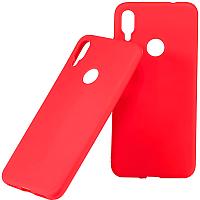 Чехол-накладка Case Matte для Redmi Note 7 (красный матовый) -