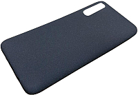 Чехол-накладка Case Rugged для Galaxy A50 (синий матовый) -