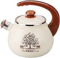 Чайник со свистком Idilia I2711tree (дерево счастья) -