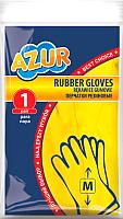 Перчатки хозяйственные Azur Резиновые (M) -