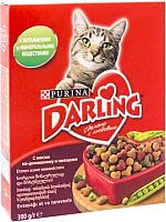 Корм для кошек Darling С мясом и овощами (300г) -