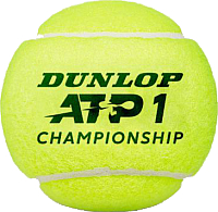 Набор теннисных мячей DUNLOP ATP Championchop / 622DN601333 (4шт) -
