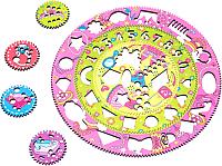 Развивающая игрушка WoodLand Toys Спирограф для рисования. Принцессы / 122104 -