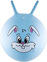 Фитбол с рожками Innovative Кролик / 17065 (голубой) -