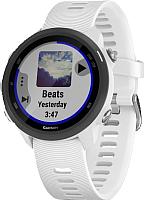 Умные часы Garmin Forerunner 245 / 010-02120-31 (белый/черный) -