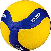 Мяч волейбольный Mikasa V320W (размер 5, желтый/синий) -