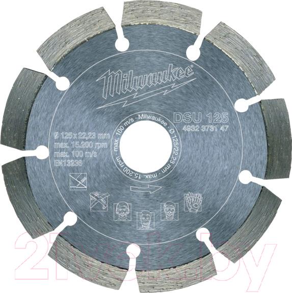 Купить Отрезной диск алмазный Milwaukee, 4932373147, Китай