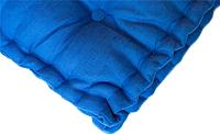 Подушка на стул MATEX 3D / 02-062 (голубой) -