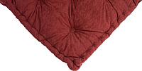 Подушка на стул MATEX 3D / 02-734 (Aloba Burgundy) -