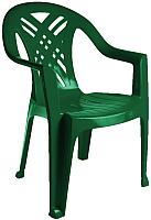 Стул пластиковый Стандарт Пластик Групп Престиж-2 (темно-зеленый) -