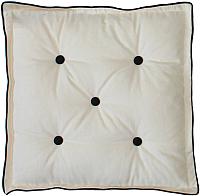 Подушка на стул MATEX 3D Домино / 04-011 (белый) -